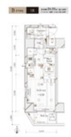 六本木 10分マンション / 4階 部屋画像1