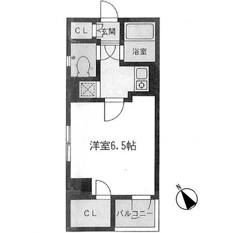 ラングタワー京橋 / 1103 部屋画像1