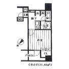 プレール・ドゥーク八丁堀 / 802 部屋画像1
