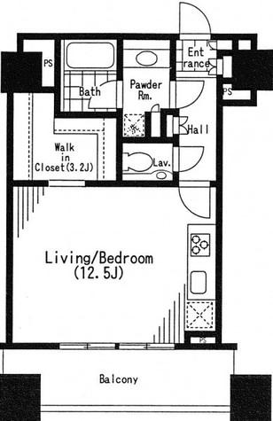 シティタワー高輪 / 3階 部屋画像1