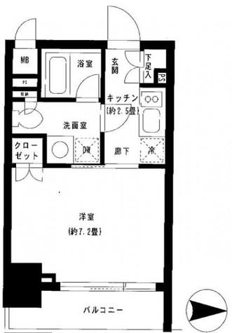 パークキューブ神田 / 3階 部屋画像1