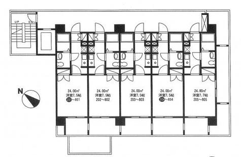 シャリオ本芝 / 2階 部屋画像1