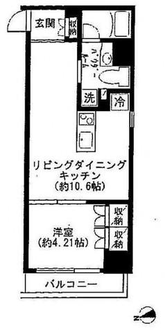 戸越 2分マンション / 407 部屋画像1
