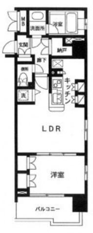 レジディア御茶ノ水【旧セントラルクリブ御茶ノ水】 / 1202 部屋画像1
