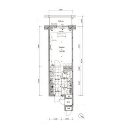 コンフォリア北参道(旧ヴェールヴァリエ北参道) / 12階 部屋画像1