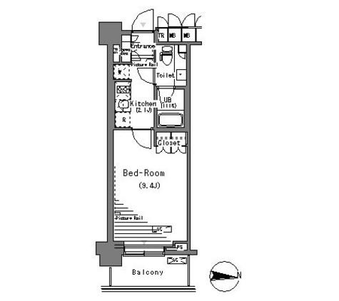 パークアクシス辰巳ステージ / 4階 部屋画像1