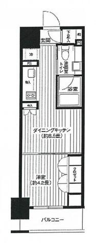 レジディア新御徒町 / 8階 部屋画像1