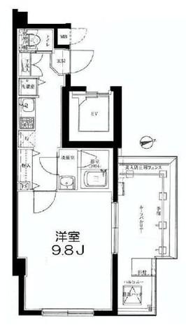 レフィーズ上野 / 9階 部屋画像1