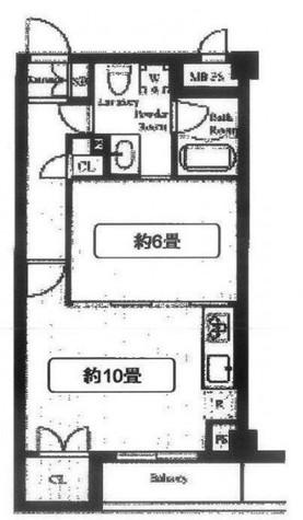 コンフォリア目黒長者丸 / 413 部屋画像1
