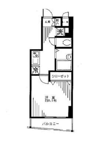 ステージファースト神田 / 402 部屋画像1