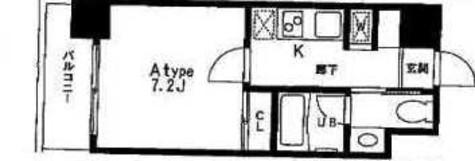 レジディア中目黒Ⅱ / 7階 部屋画像1