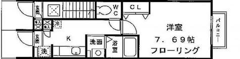 デザインコート大崎 / 1階 部屋画像1
