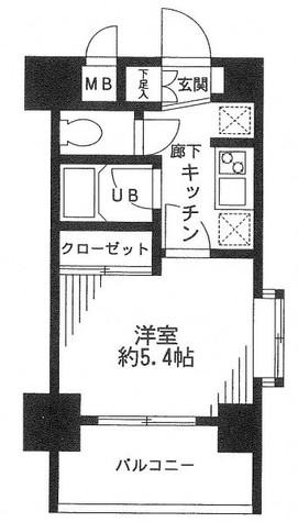 メインステージ南麻布Ⅳ / 10階 部屋画像1