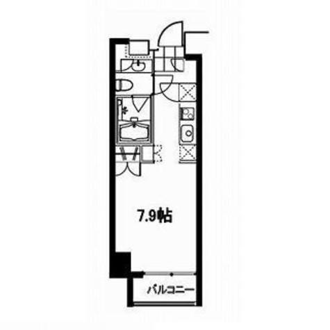フレンシア麻布十番サウス / 504 部屋画像1