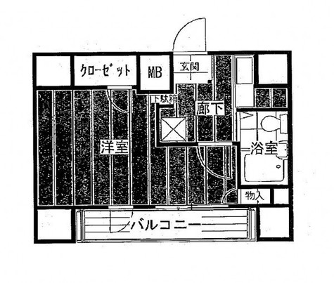 プレール代々木公園 / 701 部屋画像1