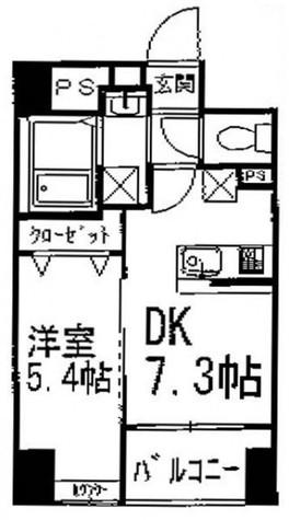 ペイサージュ文京 / 5階 部屋画像1