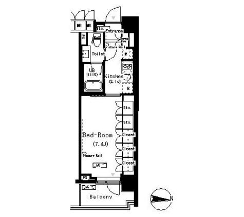 パークアクシス辰巳ステージ / 5階 部屋画像1