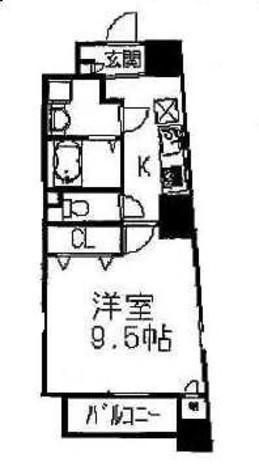 大塚 9分マンション / 8階 部屋画像1
