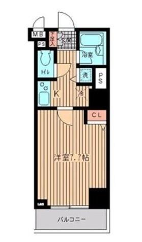 HF日本橋レジデンス 【旧ジョイシティ日本橋】 / 6階 部屋画像1