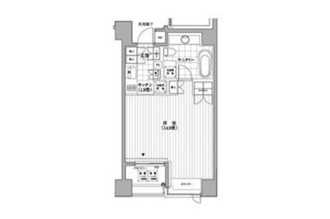カスタリア銀座(旧イプセギンザ) / 9階 部屋画像1