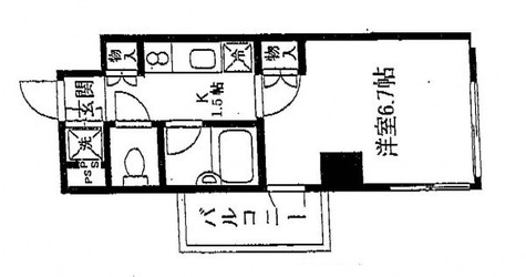 コンフォリア・リヴ小石川 / 2階 部屋画像1