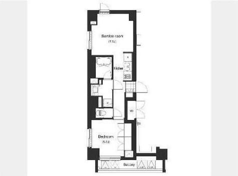 アパートメンツ南麻布Ⅱ / 401 部屋画像1