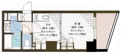 アクシルコート日本橋 / 2階 部屋画像1