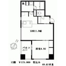 OZIO勝どき(オジオ) / 1201 部屋画像1