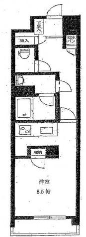 ルミエール東神田 / 4階 部屋画像1