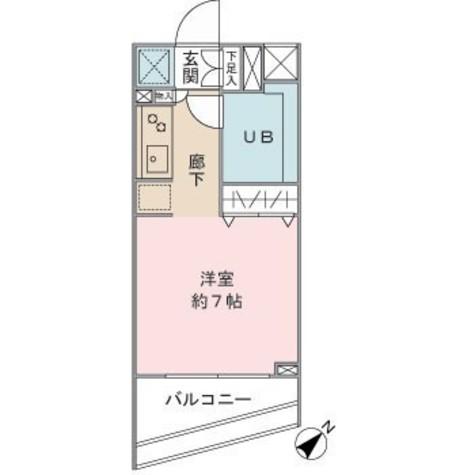 レジディア神田岩本町 / 7階 部屋画像1