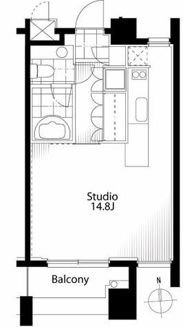 フィーノ自由が丘(fino JIYUGAOKA) / 5階 部屋画像1