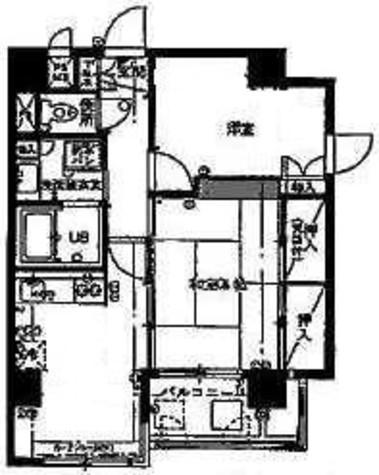 キャッスルマンション武蔵小山 / 7階 部屋画像1