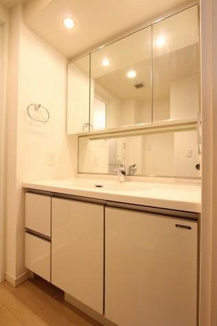 参考写真:洗面・脱衣室(9階・別タイプ)