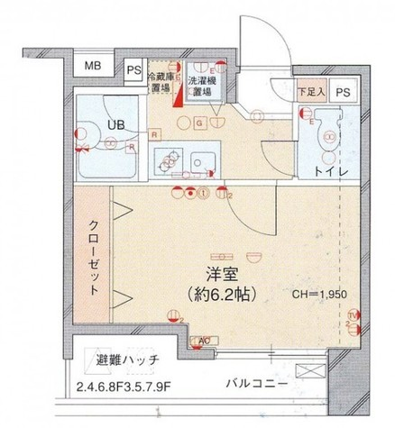 菱和パレス渋谷西壱番館 / 9階 部屋画像10