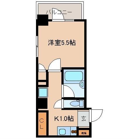 レジディア文京湯島Ⅱ / 4階 部屋画像10