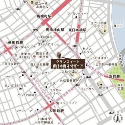 グランスイート東日本橋スクウェア / 2階 部屋画像10