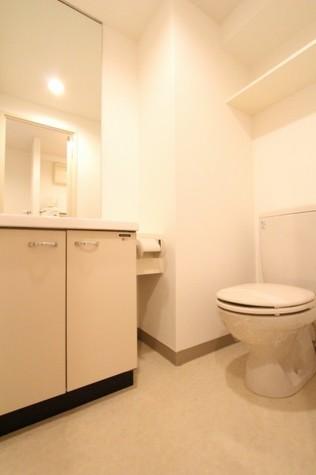 参考写真:サニタリールーム(3階・反転タイプ)