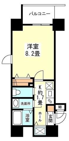 ガーラプレイス新宿御苑 / 11階 部屋画像11
