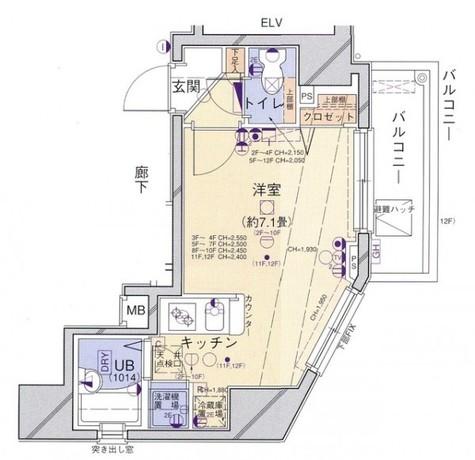 菱和パレス笹塚 / 2階 部屋画像11