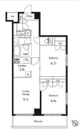 プライマル小石川 / 3階 部屋画像11