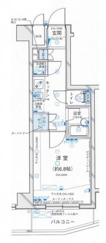 パレステュディオ三田 / 1303 部屋画像11