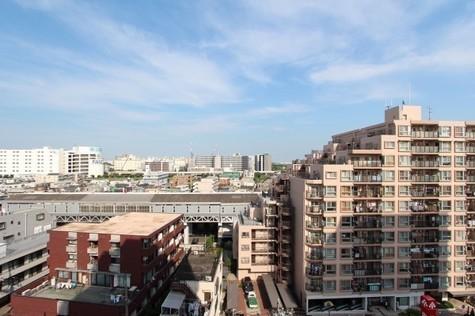 参考写真:10階からの眺望