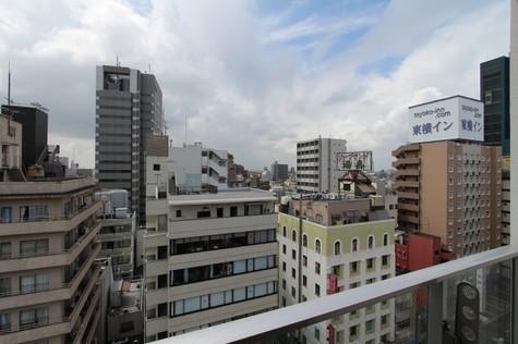 参考写真:11階からの眺望