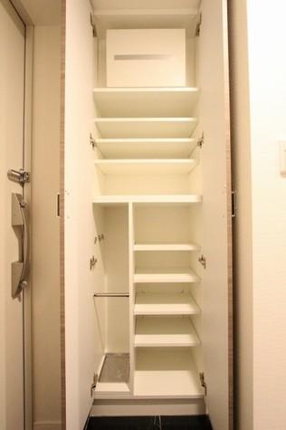 参考写真:下足入れ(1階・別タイプ)