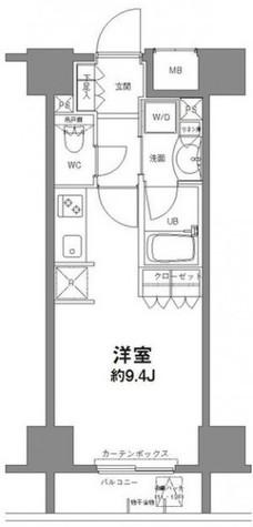 コンフォリア新宿御苑Ⅱ / 5階 部屋画像12