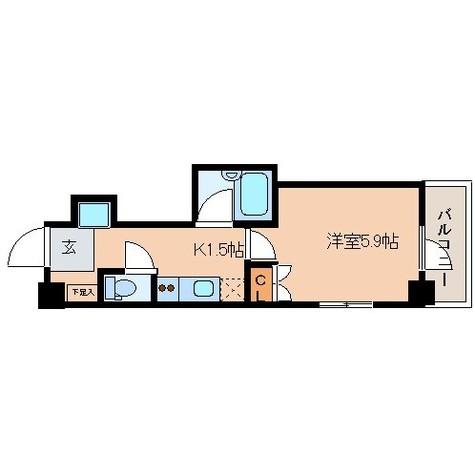 レジディア文京湯島Ⅱ / 5階 部屋画像13