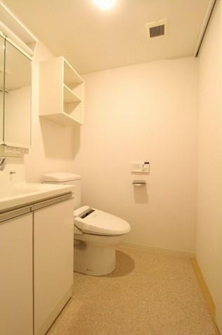 参考写真:サニタリールーム(2階・反転タイプ)