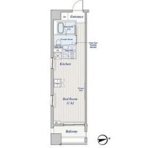コスモグラシア芝大門 / 4階 部屋画像14