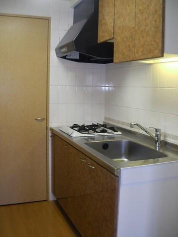 キッチン(ガスコンロ 2口)