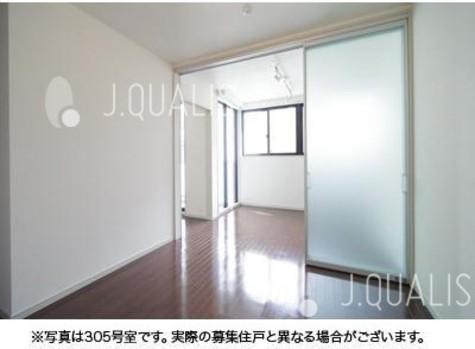 新富町 2分マンション / 9階 部屋画像2